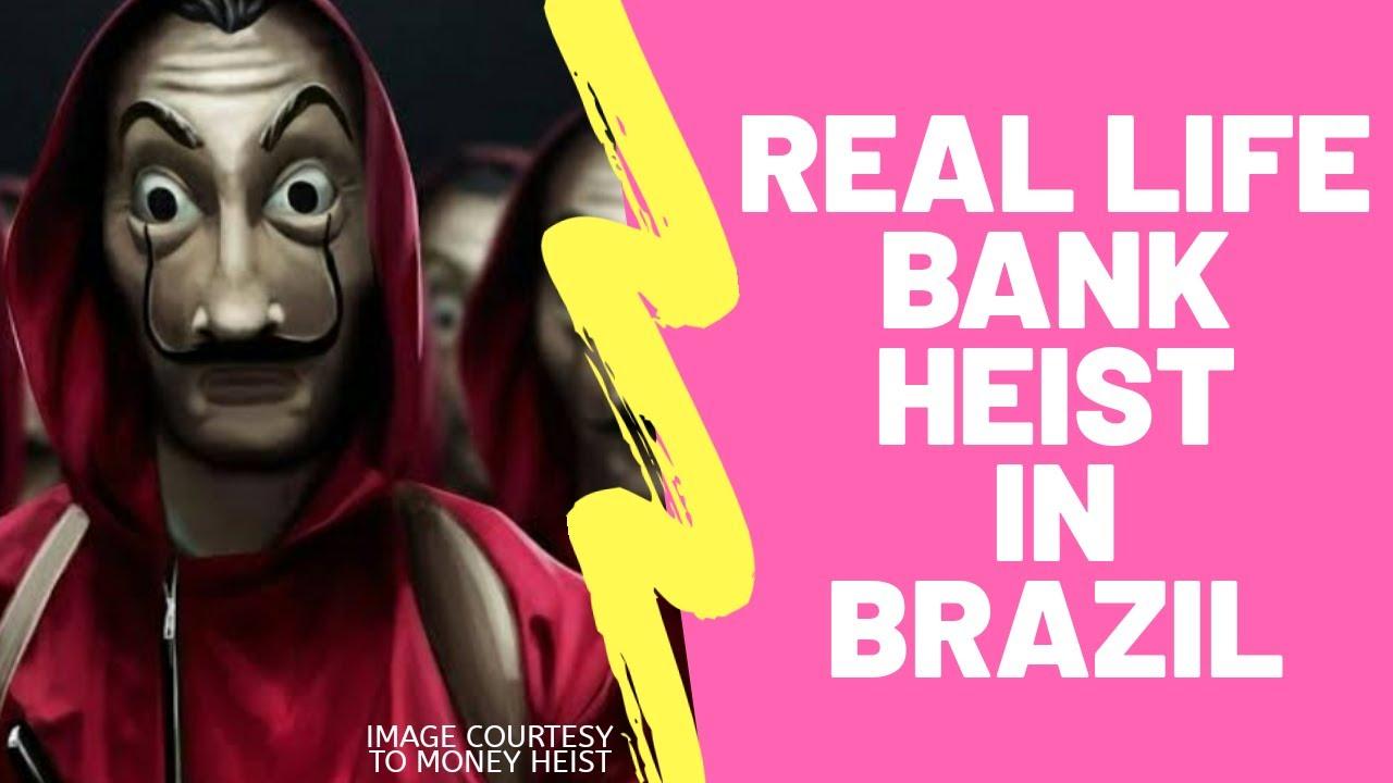 Real Life Bank Heist in Brazil | KaBoom News
