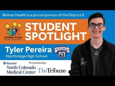 Student Spotlight: Tyler Pereira