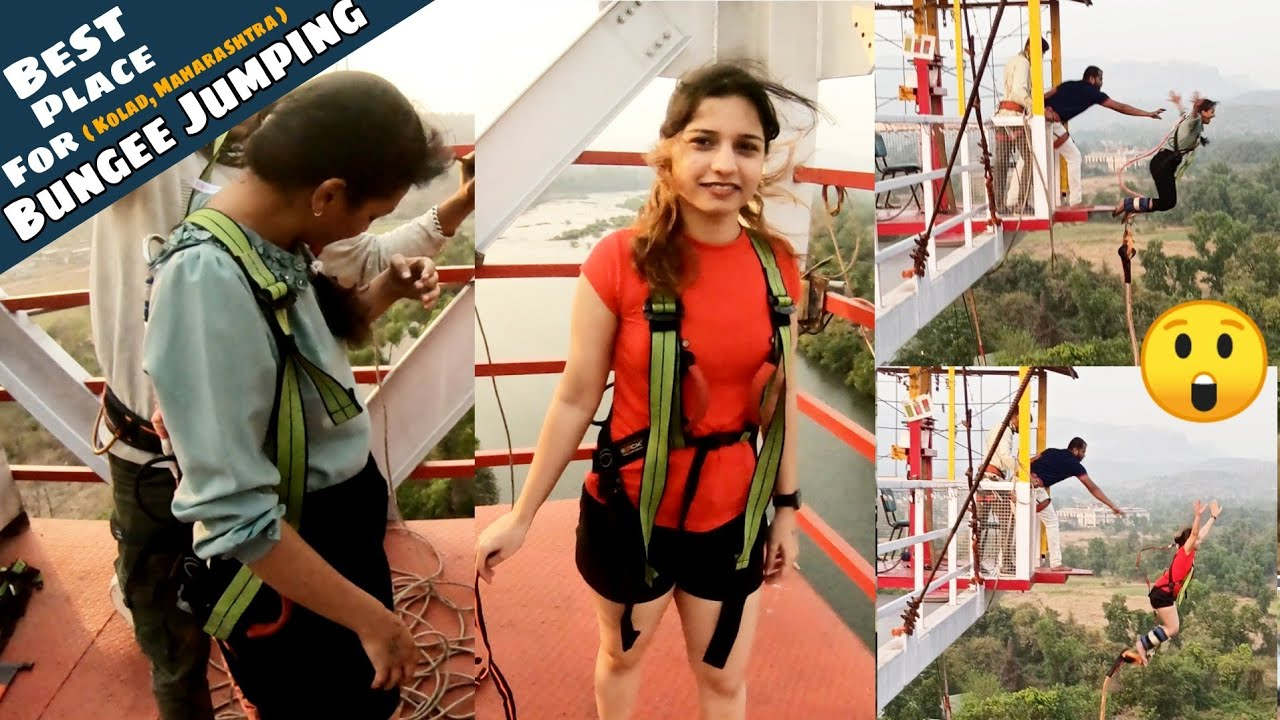 Download BUNGEE JUMPING For The First Time    Kolad BUNGEE JUMPING Experience