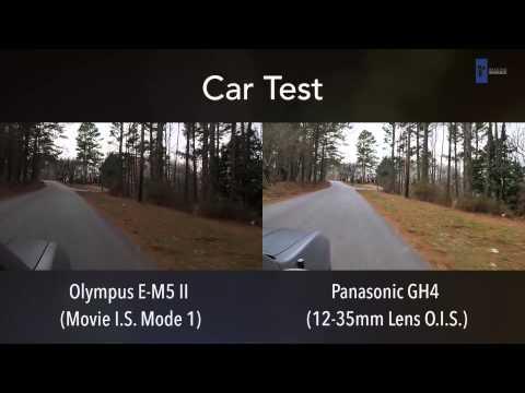 Olympus E-M5 II vs. Panasonic GH4: Video Image Stabilization Comparison