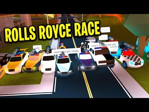 MASSIVE NEW ROLLS ROYCE RACE in Jailbreak