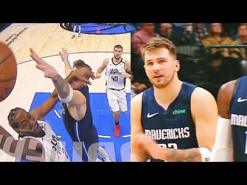 Kawhi Shows Luka Doncic No Mercy With Klaw Dunk In Crazy Duel! Clippers vs Mavericks 2020 NBA Season
