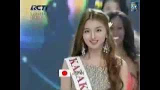 Kazakhstan in opening ceremony Miss World 2013