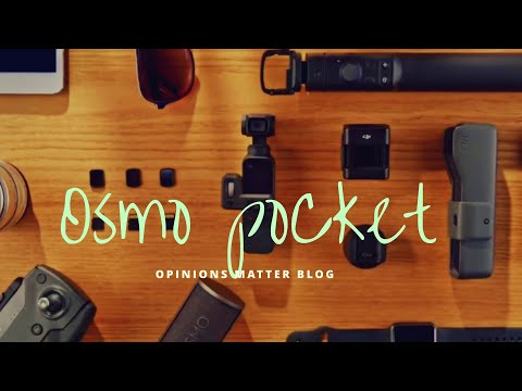 DJI LAUNCHES OSMO POCKET (palm Held Gimbal)