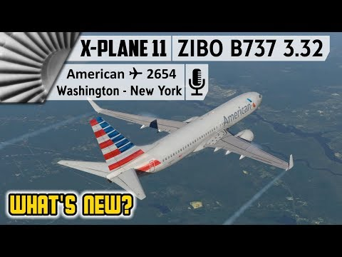 ZIBO MOD B737-800X v3.32 in X-Plane 11.30 Beta | What's New?