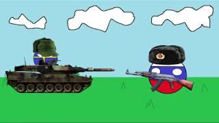 Sweden VS Russia (Countryballs)