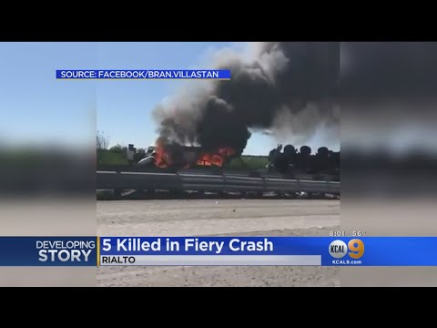 Investigation Into Cause Of Deadly Crash On 10 Freeway Continues