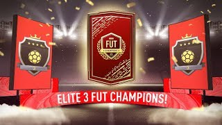 INSANE PACK LUCK! ELITE 3 FUT CHAMPIONS REWARDS! #FIFA20 ULTIMATE TEAM