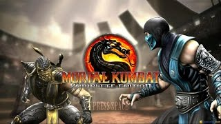 Mortal Kombat Komplete Edition gameplay (PC Game, 2011)
