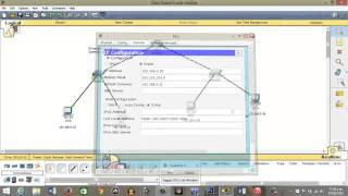Basic Configuration Router and Switch CISCO Packet Tracer