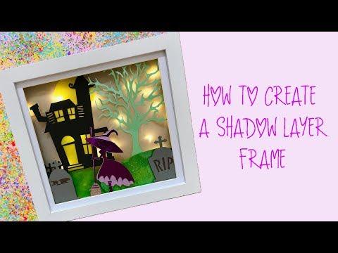 Create a Layered Shadow Frame