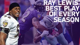 Ray Lewis' Best Play of Every Season | NFL Highlights