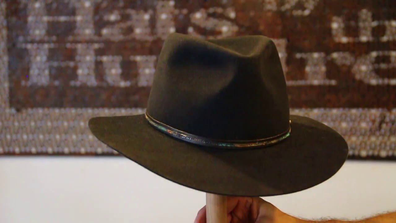41481df2b69 Akubra Leisure Time Graphite Grey Hat Review - Hats By The Hundred ...