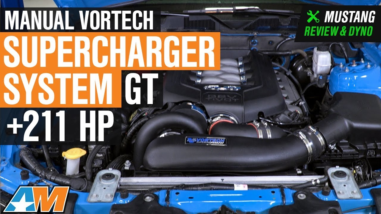 2011-2014 Mustang GT Manual Vortech Supercharger System Review & Dyno