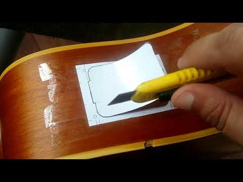 How to install a Fishman Presys Blend Onboard Preamp