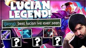 My SECRET OP LUCIAN MID RAIDBOSS BUILD! ⚔️ | Voyboy