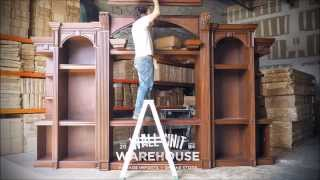 Wall Unit Warehouse - Tastefully designed, very large, wood entertainment centers.