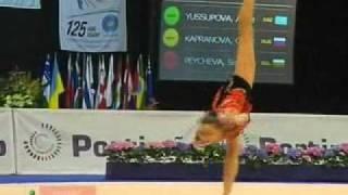 Aliya Yussupova w/ Rope @