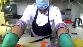 crema de espinaca y potaje de lenteja y choclo