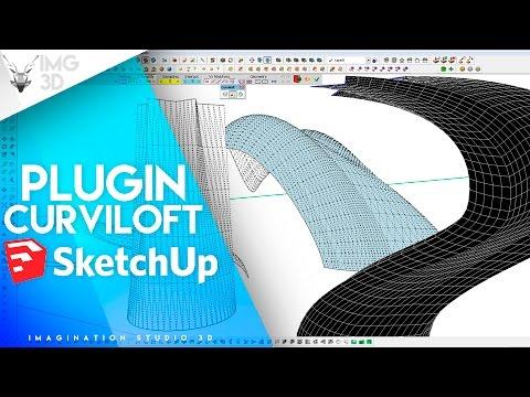🥇 Descargar curviloft en SketchUp 2018 【 Crea formas orgánicas 】