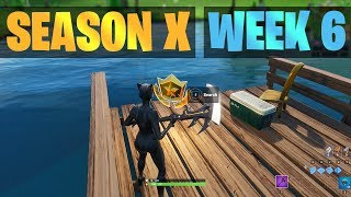 Fortnite Season X, Week 6 Secret Battle Star Location