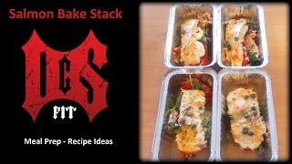 Baked Salmon Stack
