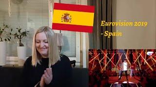 """Eurovision 2019 - Spain - Reaction to Miki """"La venda"""""""