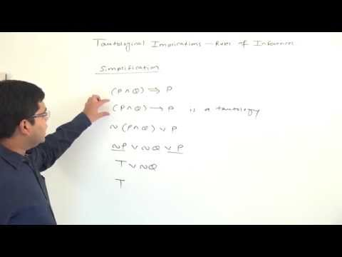 GATE - Maths - Propositional Logic - Logical Consequences - Simplification And Addition