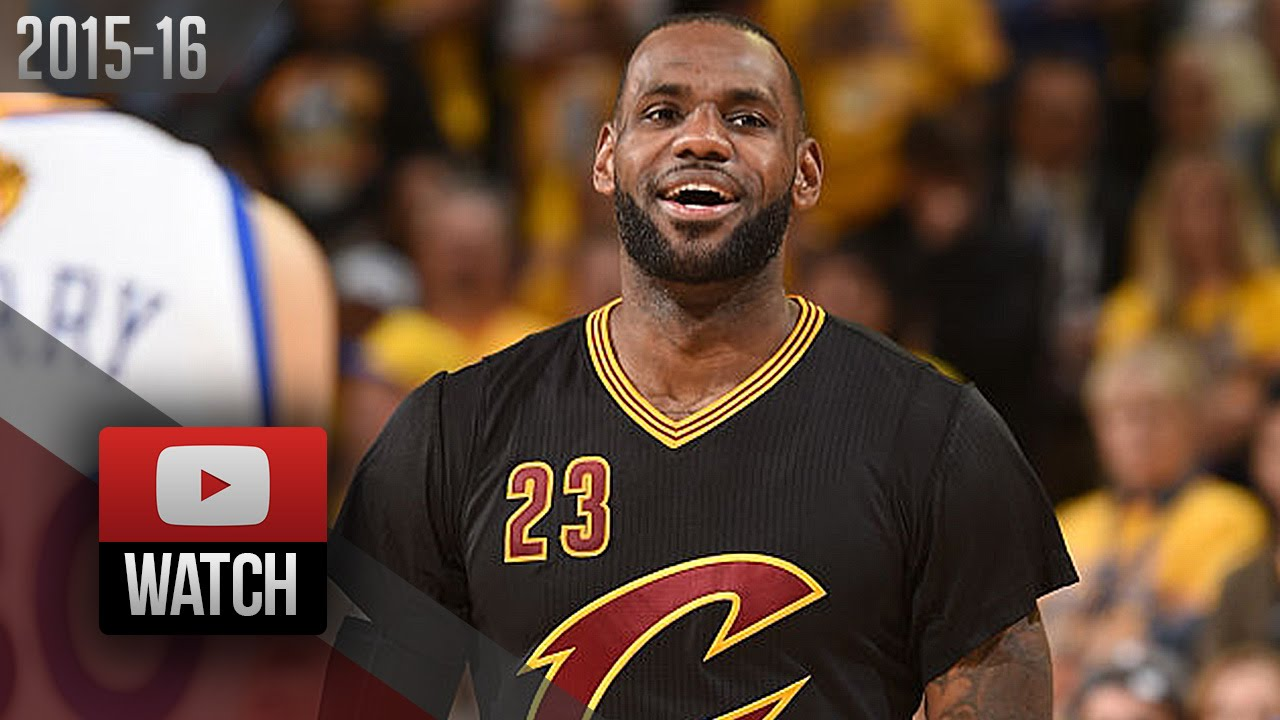 reputable site a7ef4 da3a9 LeBron James Full Game 5 Highlights at Warriors 2016 Finals - 41 Pts, 16  Reb, BEAST MODE!