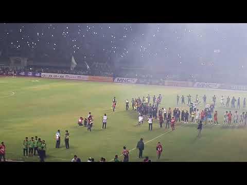 Celebration Game Persebaya VS PSS (Sampai Kau Bisa & Song For Pride)