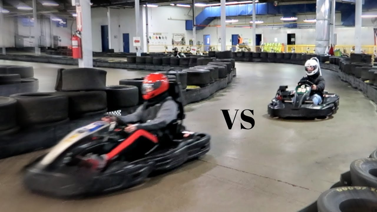 Go Karts Columbus >> Dad Vs Son Go Kart Challenge Grand Prix Karting Columbus Youtube