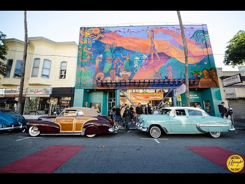 San Francisco The Mission Lowrider Cruise Night