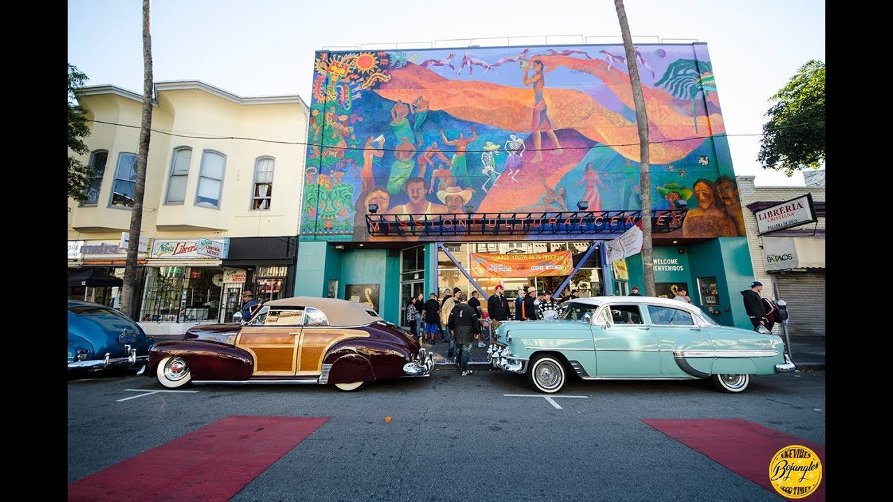 San Francisco The Mission Lowrider Cruise Night YouTube - Lowrider car show san francisco 2018