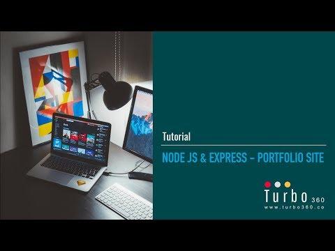 Portfolio Site With Node JS & Express - Full thumbnail