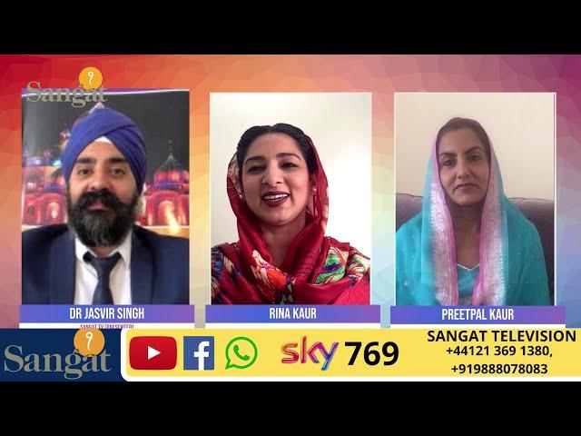 Sangat Health Show - Exercise Lockdown, Covid 19 Health - Pritpal Kaur - Rina Kaur-Sangat Television
