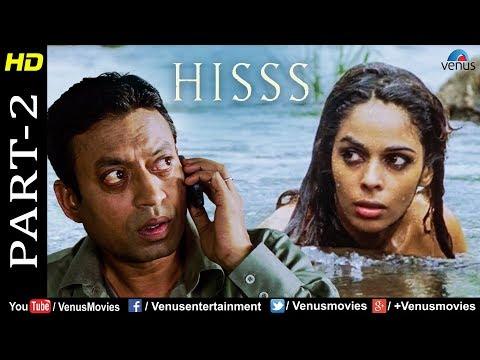 Hisss - Part 2 | Mallika Sherawat & Irrfan Khan | Naagin | Bollywood Adventure Thriller Movie Scenes