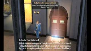 Night at the Museum: Battle of the Smithsonian Movie Game Walkthrough Part 2 (Wii)