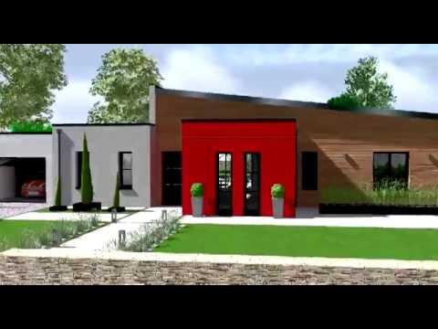 Maison eos 125 habitat plus youtube for Modele maison habitat plus