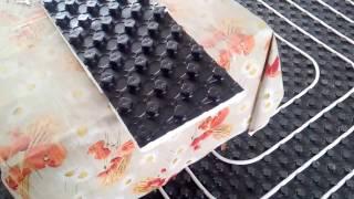 видео Подложка под теплый пол