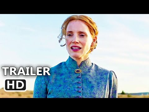 WOMAN WALKS AHEAD   2018 Jessica Chastain, Sam Rockwell Western Movie HD