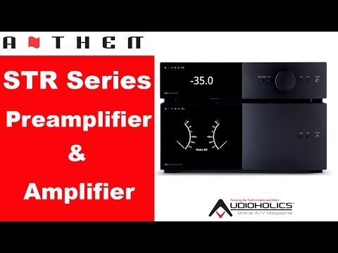 Anthem STR Preamp & Power Amplifier Bench Test Results