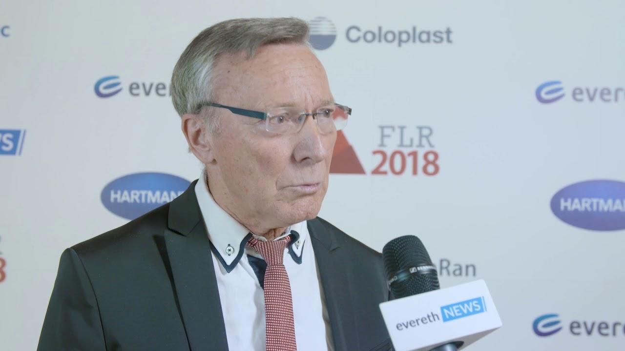 Prof  Axel Kramer o swoim wystąpieniu na II Forum Leczenia Ran