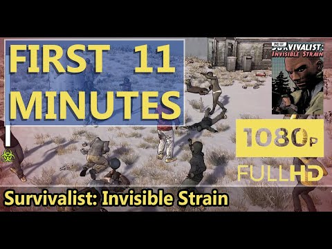 FIRST LOOK | Survivalist: Invisible Strain | HD GAMEPLAY |