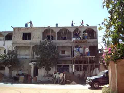 construction site in dakar senegal youtube