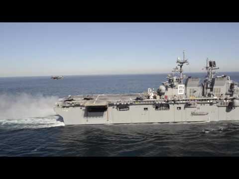 LHA America, embarked F-35B trials, part IX
