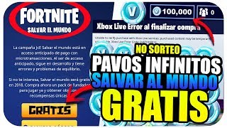 GET FREE UNLIMITED PAVOS IN FORTNITE!! | SAVE THE FREE WORLD GLITCH *NEW TIP*