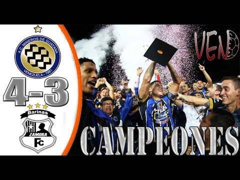Mineros vs Zamora FC (4-3) | Resumen Completo HD | Final Cop