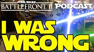Star Wars Battlefront 2 Podcast | PRIDE And ACCOMPLISHMENT And The CREDITS Paywall | I WAS WRONG