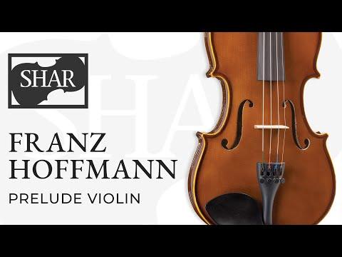 Franz Hoffmann Prelude Violin