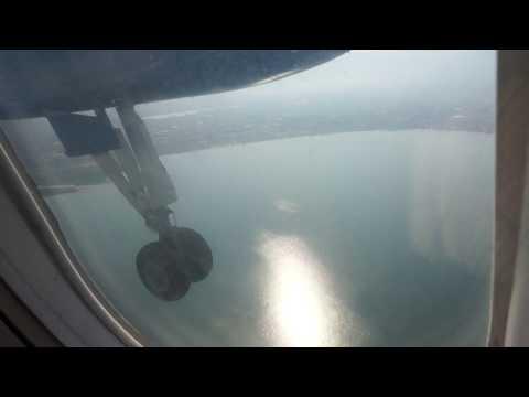 Air Tanzania Dash 8 landing at Bujumbura - Burundi
